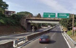 """Autostrade, dissequestrate le barriere di sicurezza bordo-ponte installate sui viadotti ''Serra dei lupi"""" e """"Flumeri"""""""