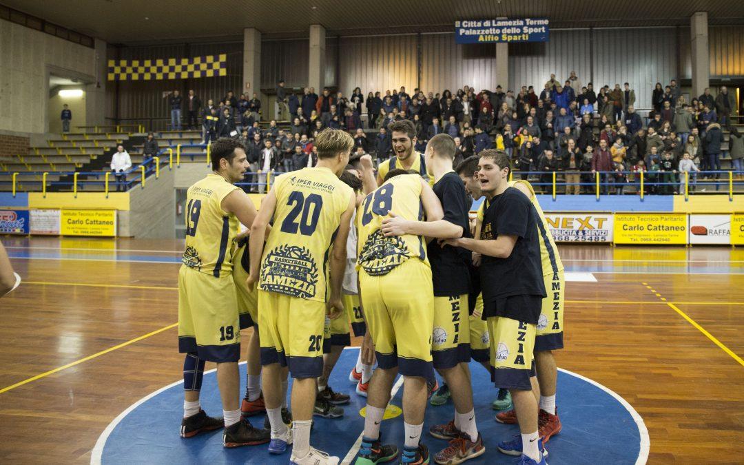 Basketball Lamezia campione di Calabria  In Serie C silver superata la Vis Reggio