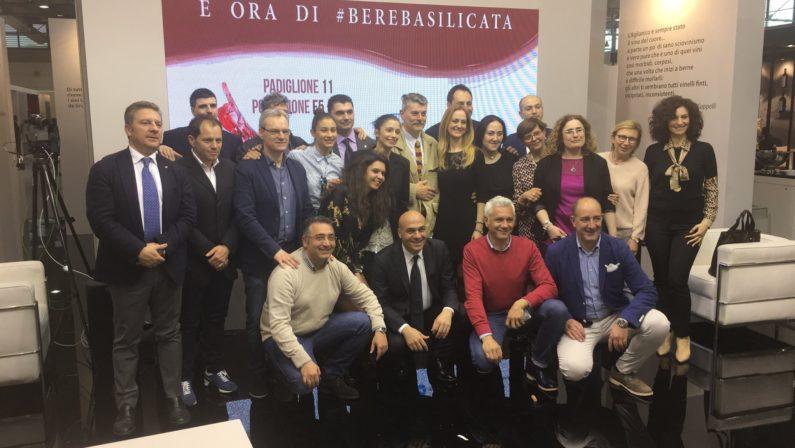 Al Vinitaly la Basilicata dà il buon esempio: 45 aziende e 5 Ati perché si vince tutti assieme