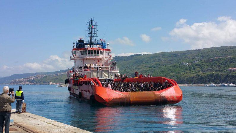 Nuovo sbarco a Crotone: arrivati altri 66 migranti
