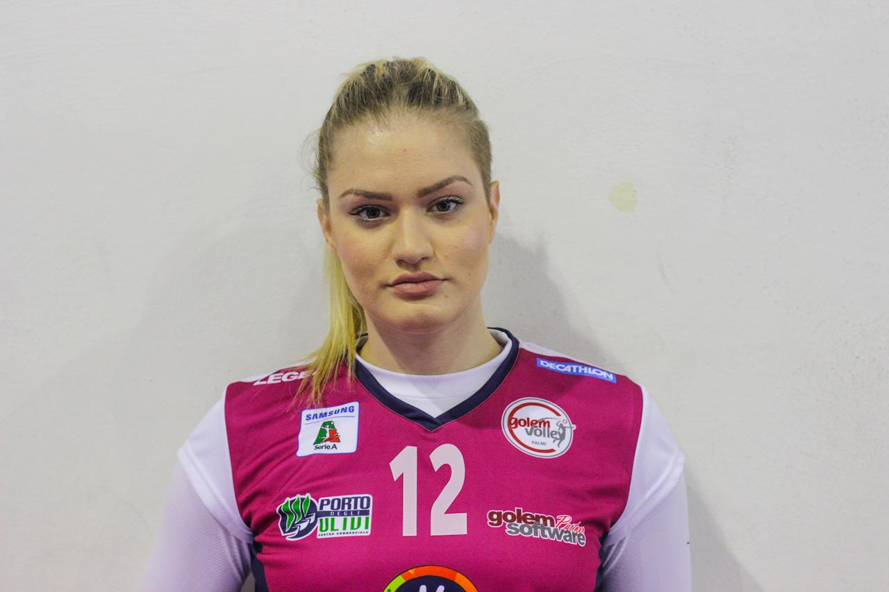 Sospesa per doping Bruna Ana VrankovicLa schiacciatrice della Golem Palmi trovata positiva