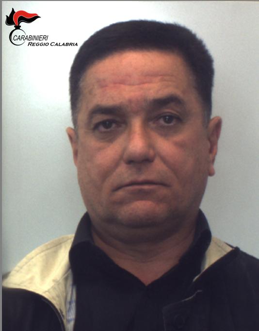 Locri, arrestato il boss di 'ndrangheta Cataldo: i carabinieri lo sorprendono alla guida di un'auto