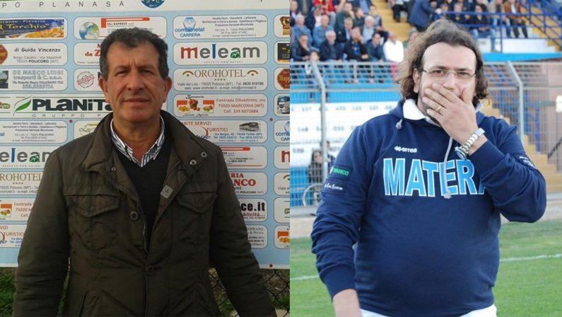 Matera Calcio, Casalnuovo smentisce le voci del passaggio di consegne con Columella