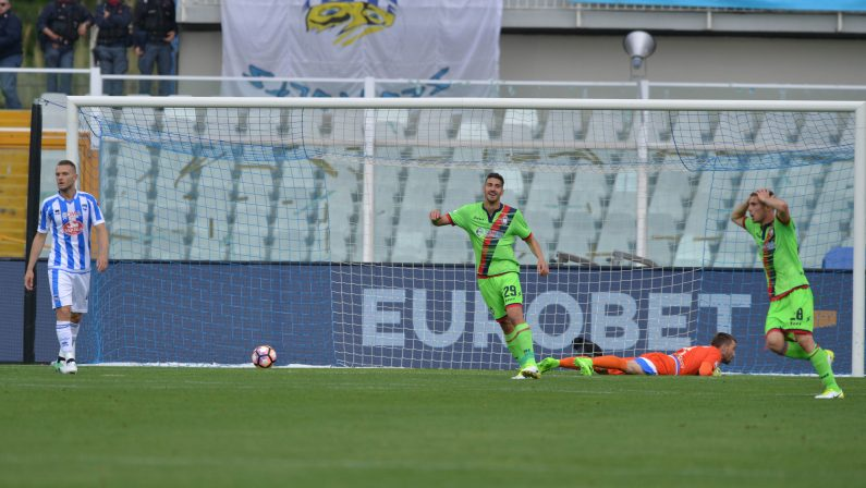 Serie A, il Crotone batte anche il Pescara con TonevMa deve fare i conti con le vittorie di Empoli e Genoa