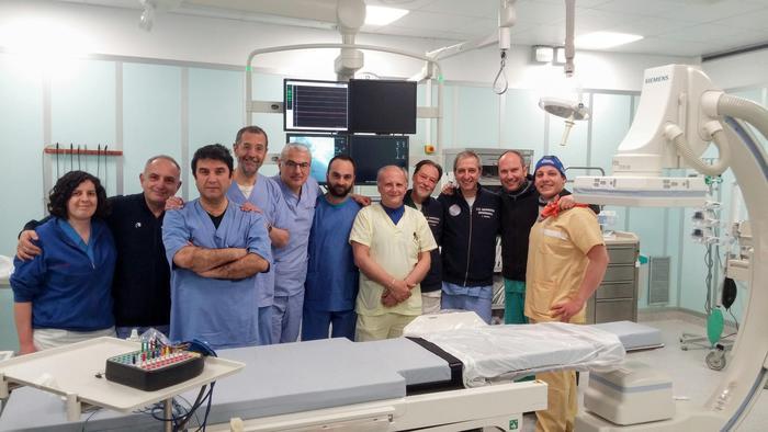 San Carlo, un altro intervento all'avanguardia in Cardiologia