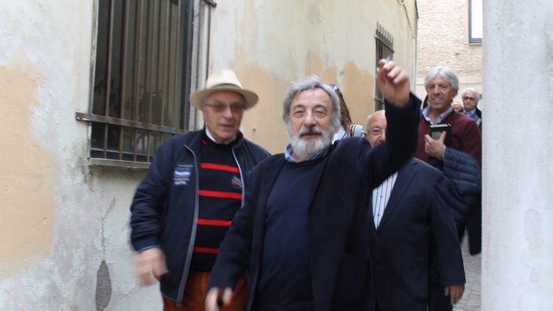 """FOTO – Il regista Gianni Amelio torna a Catanzaro  """"La tenerezza"""" nel cinema dove andava da piccolo"""