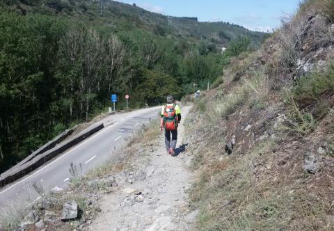 Il sentiero che porta a Manjarin