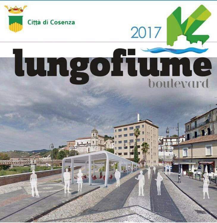 Cosenza, il Lungofiume Boulevard si sposta nel centro storico: ecco il progetto