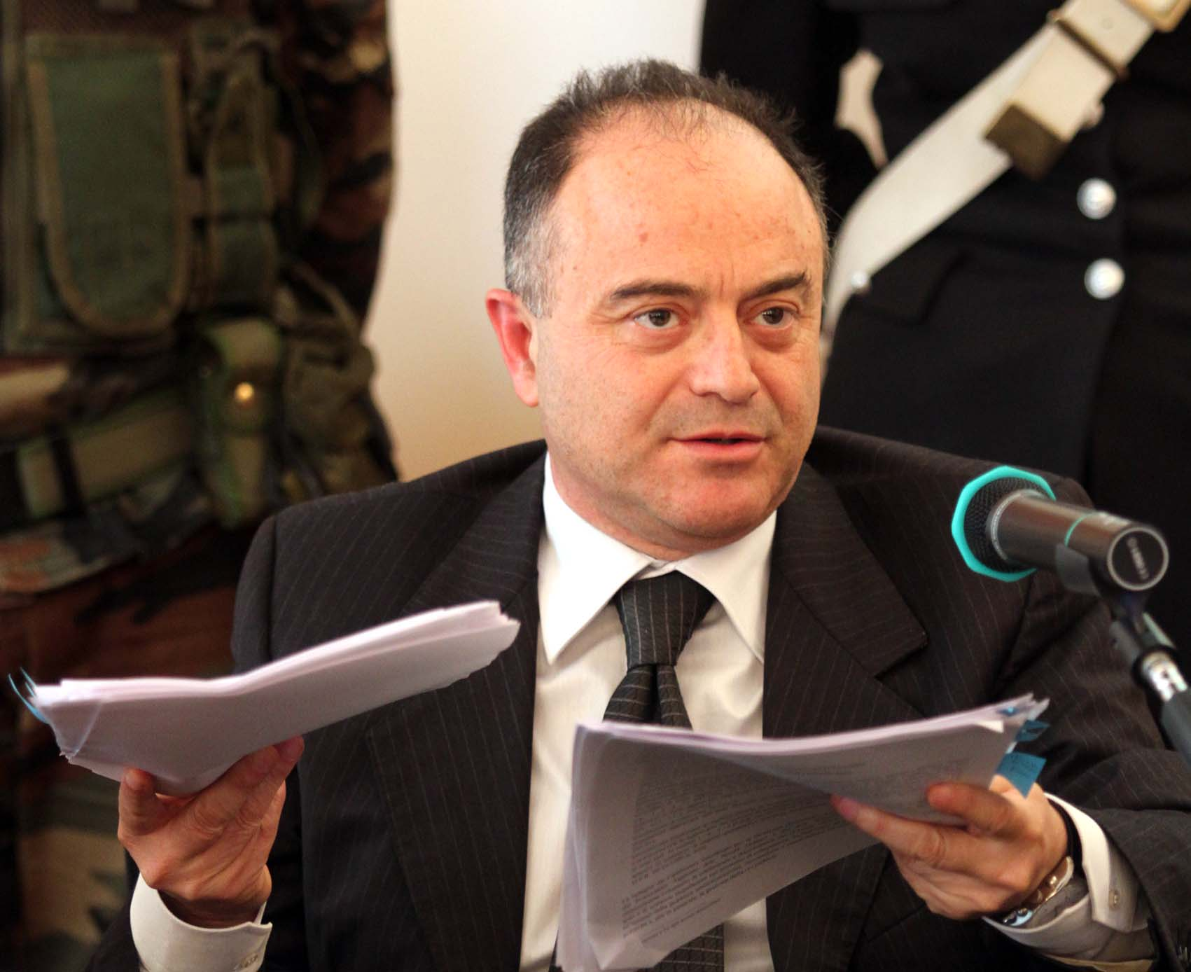 Ergastolo, Gratteri: «E' stata demolita la lotta alle mafie»