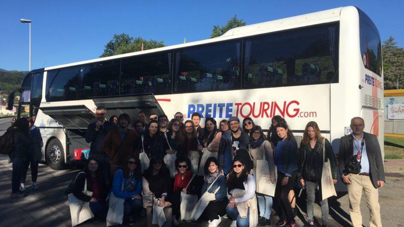 VIDEO - Grand Tour Calabria degli studenti Unical, il racconto della seconda tappa