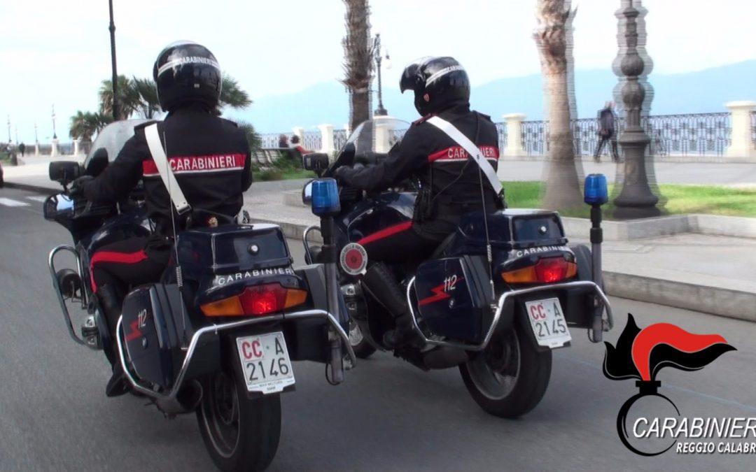 Evade dai domiciliari e lo sorprendono i carabinieri, un arresto a Reggio Calabria