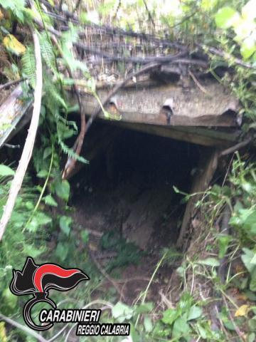 L'entrata del covo