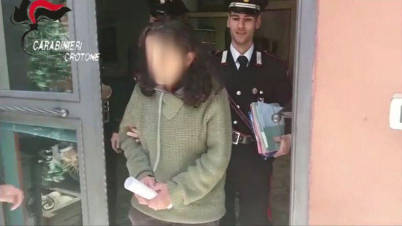 Accoltella il suo convivente che rischia l'amputazione della gamba: arrestata una donna in provincia di Crotone