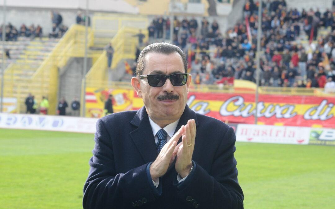 L'ex presidente del Catanzaro Giuseppe Cosentino