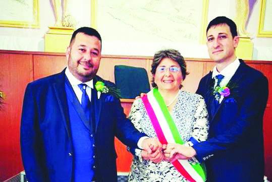 Seconda unione civile in Calabria: Marco e Riccardo hanno detto sì a Nocera Terinese