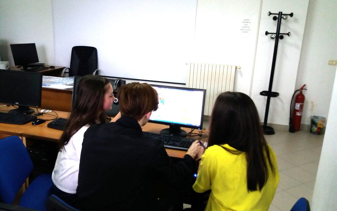 Gioco programmato ideato da alunni di Motecorvino scelto per l'Italian Scratch Festival