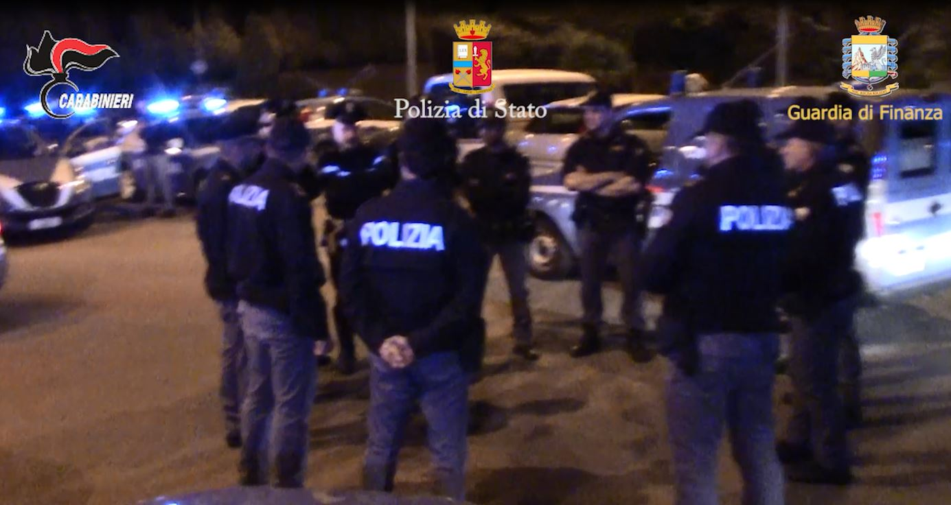 VIDEO -Operazione contro cosca Arena, 68 fermi tra Catanzaro e Crotone