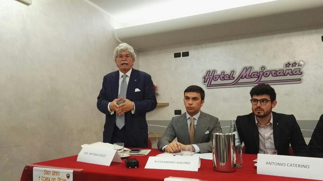 VIDEO - Il senatore Antonio Razzi a CosenzaL'intervento integrale al convegno su Corea e Stati Uniti