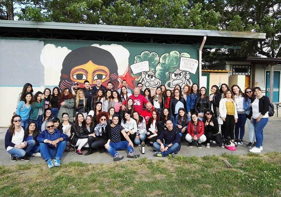 Studenti dell'Unical a Scampia