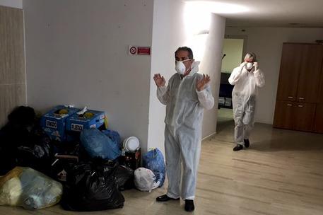 Crisi alla Provincia di Caserta, uffici sporchi