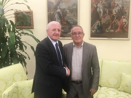 De Luca incontra il presidente del Benevento