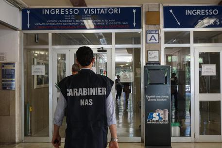 Blitz dei Nas all'ospedale San Paolo di Napoli
