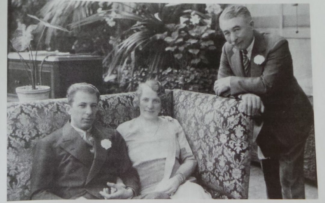 Charles Paterno con la moglie e il figlio
