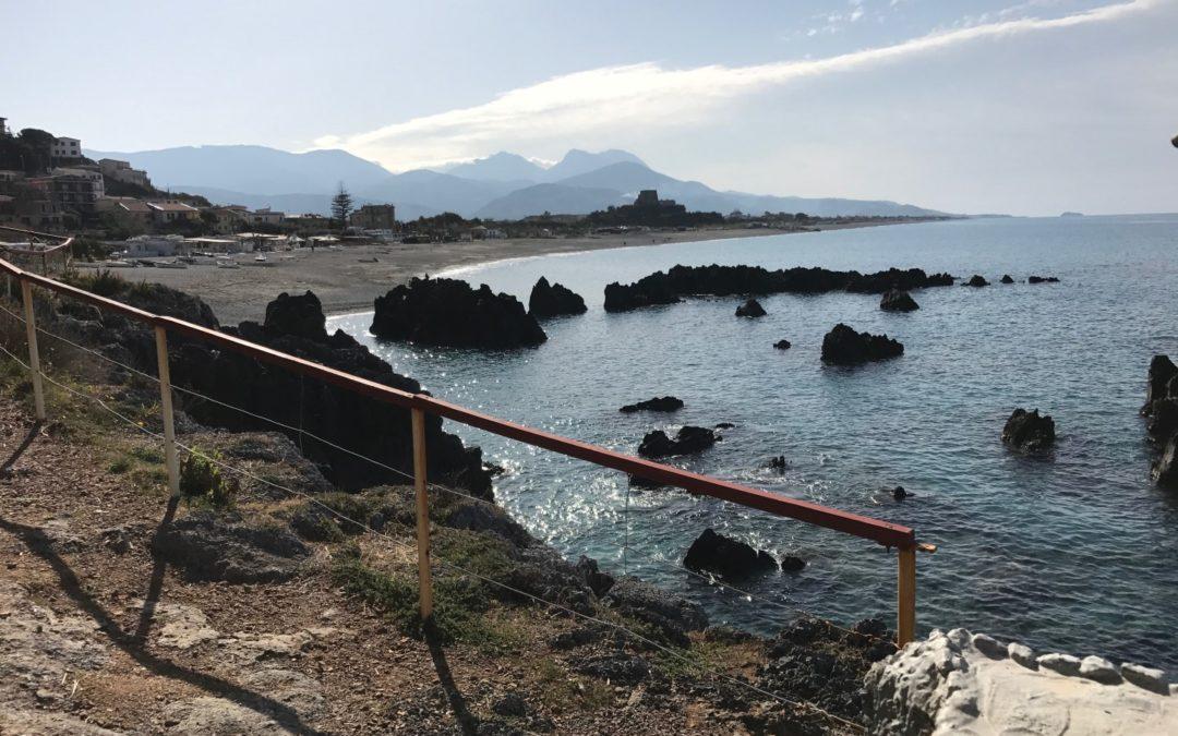 La spiaggia di Scalea