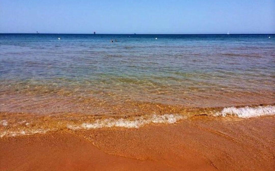 La spiaggia di Le Cannella a Isola Capo Rizzuto