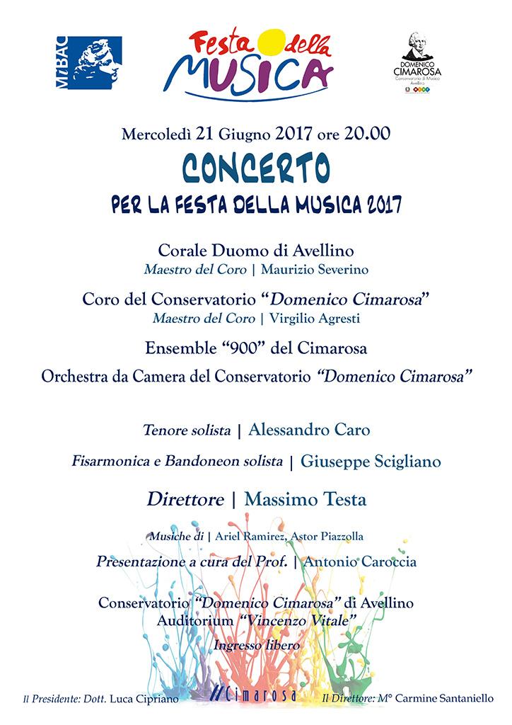 Il Cimarosa di Avellino celebra la Festa della musica con un viaggio ideale in Francia