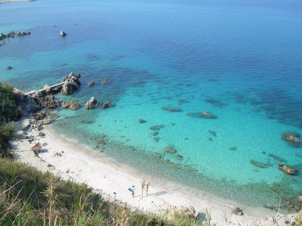 La spiaggia di Parghelia