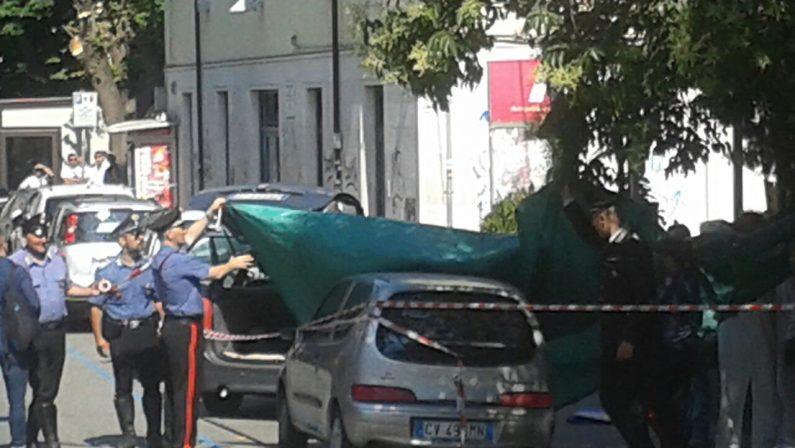 FOTO - Omicidio Mezzatesta a Catanzaro, le foto dell'agguato