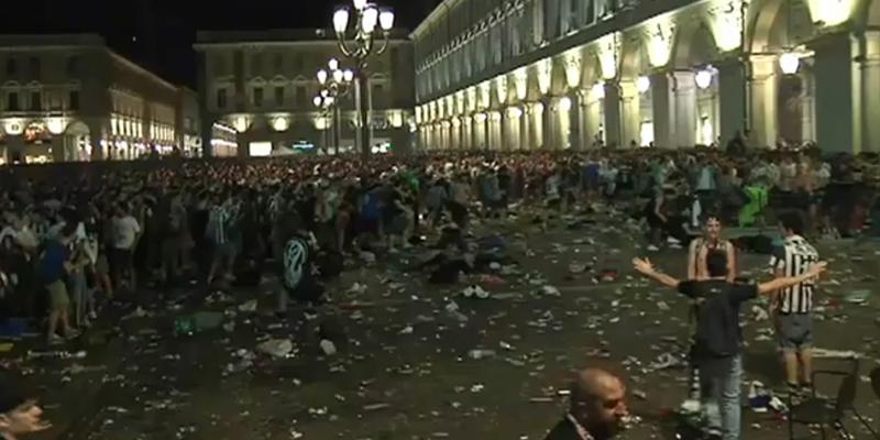 Panico in piazza San Carlo, dopo una settimanaesce dal coma la giovane calabrese travolta dalla folla