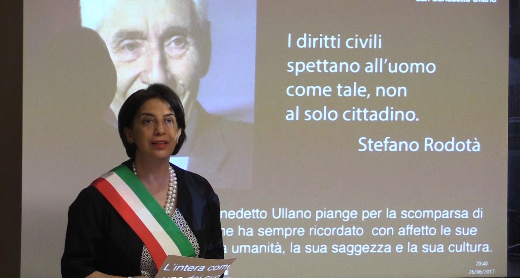 VIDEO - Morte di Stefano Rodotà, l'omaggio di San Benedetto Ullano