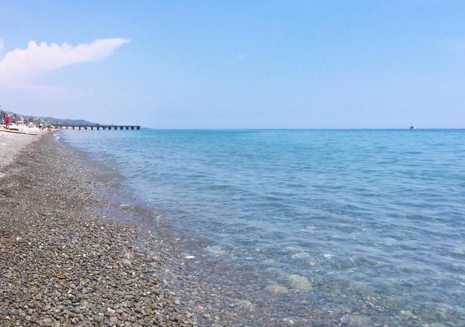 Uno scorcio della spiaggia di Trebisacce