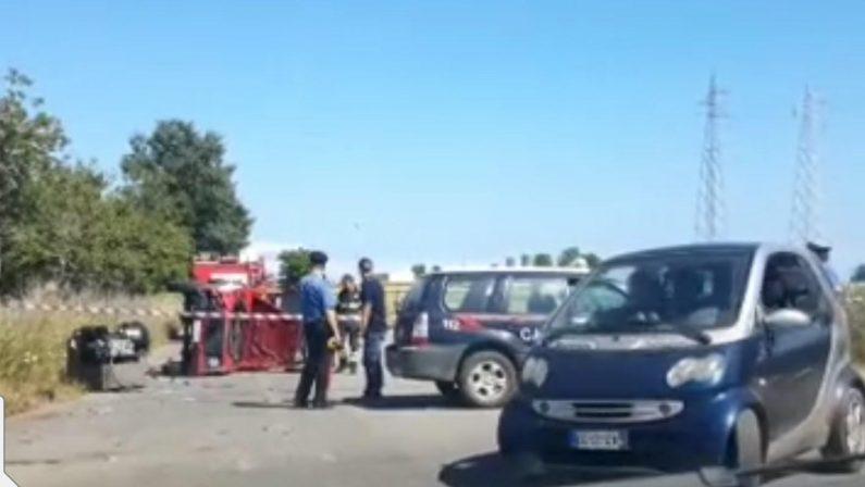 Incidente stradale in provincia di Vibo Valentia, feriti due vigili del fuoco
