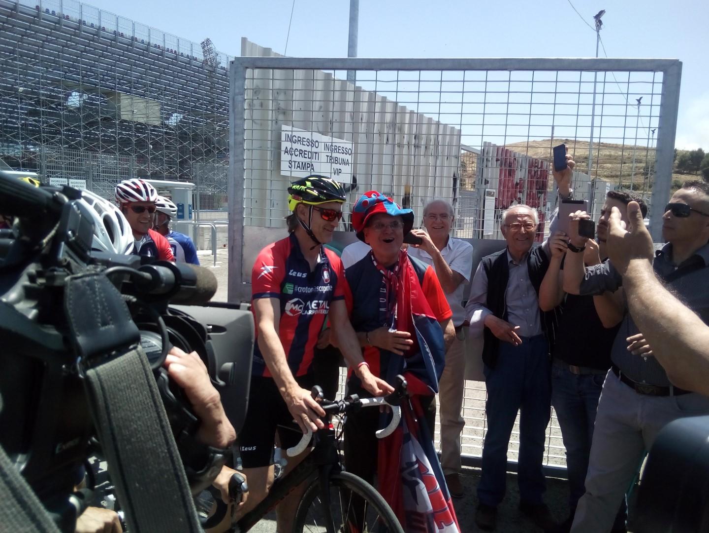 Serie A Crotone, Davide Nicola parte in bicicletta verso TorinoViaggio in 9 tappe per celebrare la salvezza in Serie A