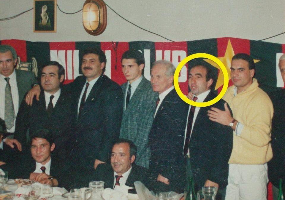 Nel tondo il lavellese Pietro Sanua, ucciso il 4 febbraio del 1995 all'età di 47 anni (foto dalla pagina fb «Vogliamo la verità sui mandanti dell'omicidio mafioso di Pietro Sanua»)