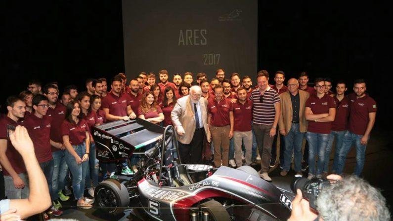 Formula Sae, presentata Ares 2017 la nuova vettura progettata e realizzata all'Unical
