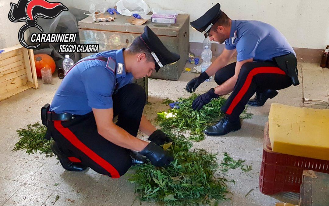 FOTO – Droga armi e munizioni scoperte a Reggio  Le immagini della merce ritrovata dai carabinieri
