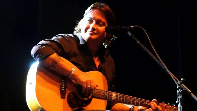 "Cristiano De André torna in Calabria, in concerto a Diamante  per la prima tappa del tour estivo ""De André canta De André"""