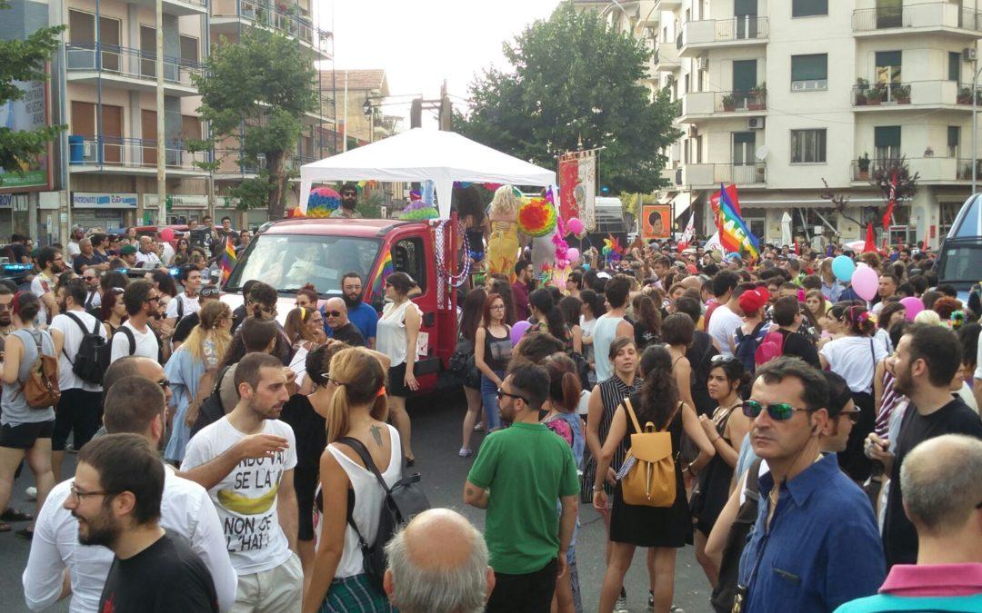 Il Gay Pride di Cosenza del 2017