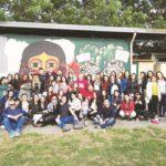 """Gli studenti dell'Unical al fondo rustico """"Lamberti"""" di Chiaiano, nel Napoletano.jpg"""