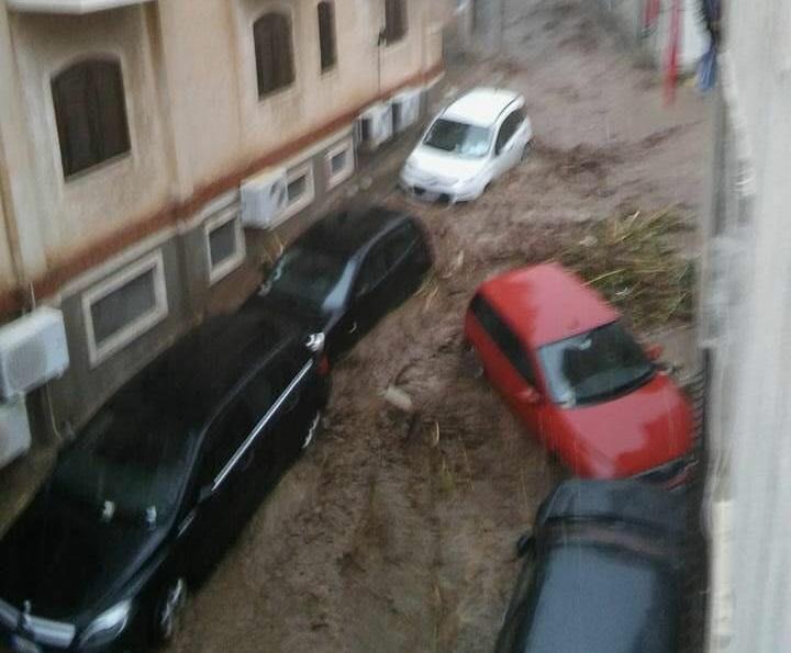 I danni del nubifragio a Scilla