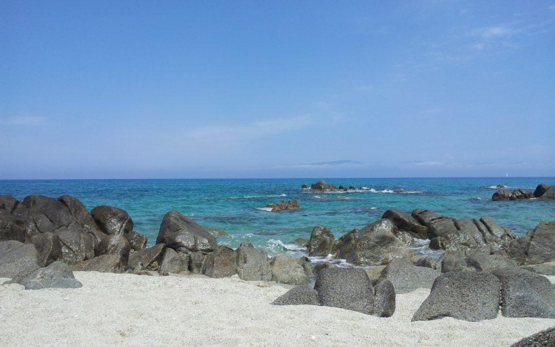 Una spiaggia calabrese