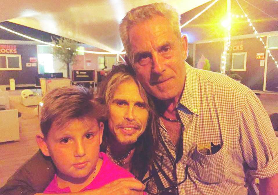 Steve Tyler con il cugino Antonio Grassi