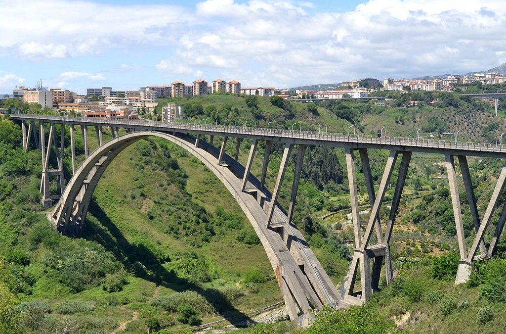Il viadotto Morandi (o Bisantis) di Catanzaro