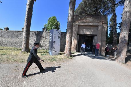 Paura per rapina alla biglietteria degli scavi di Pompei