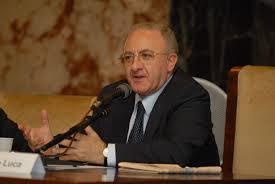 Sanità in Campania:  Il Presidente De Luca nonimato commissario