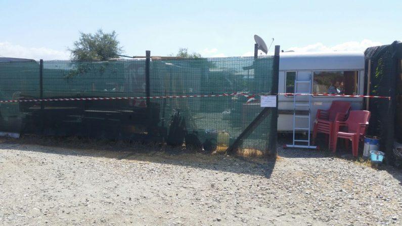 Strutture abusive in tre stabilimenti balneariSequestri nel Lametino. Verifiche su depuratori